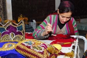 Handwerkskunst in Usbekistan