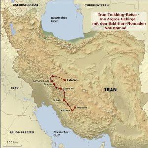 Nachhaltig reisen in Iran: Trekkingreise im Zagros Gebirge