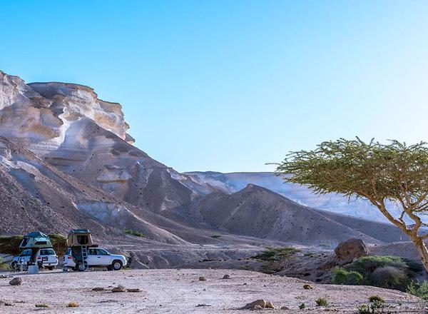 Oman mit Dachzelt