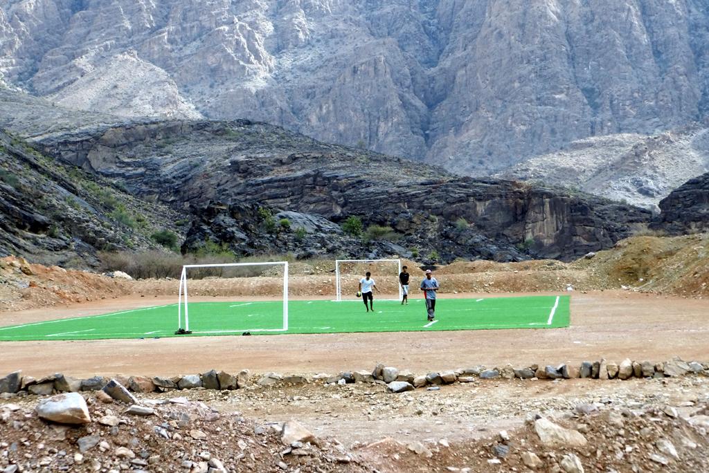 Oman Fußball (Knüppe)
