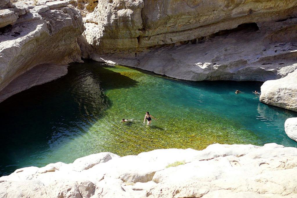 Oman Wadi Bani Khalid 1
