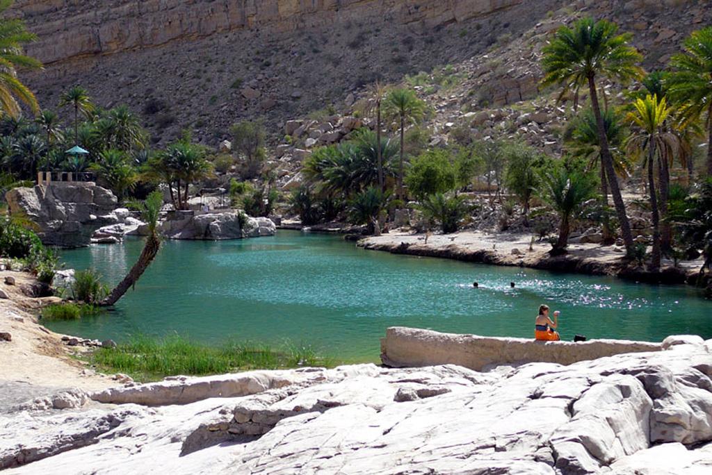 Oman Wadi Bani Khalid 2