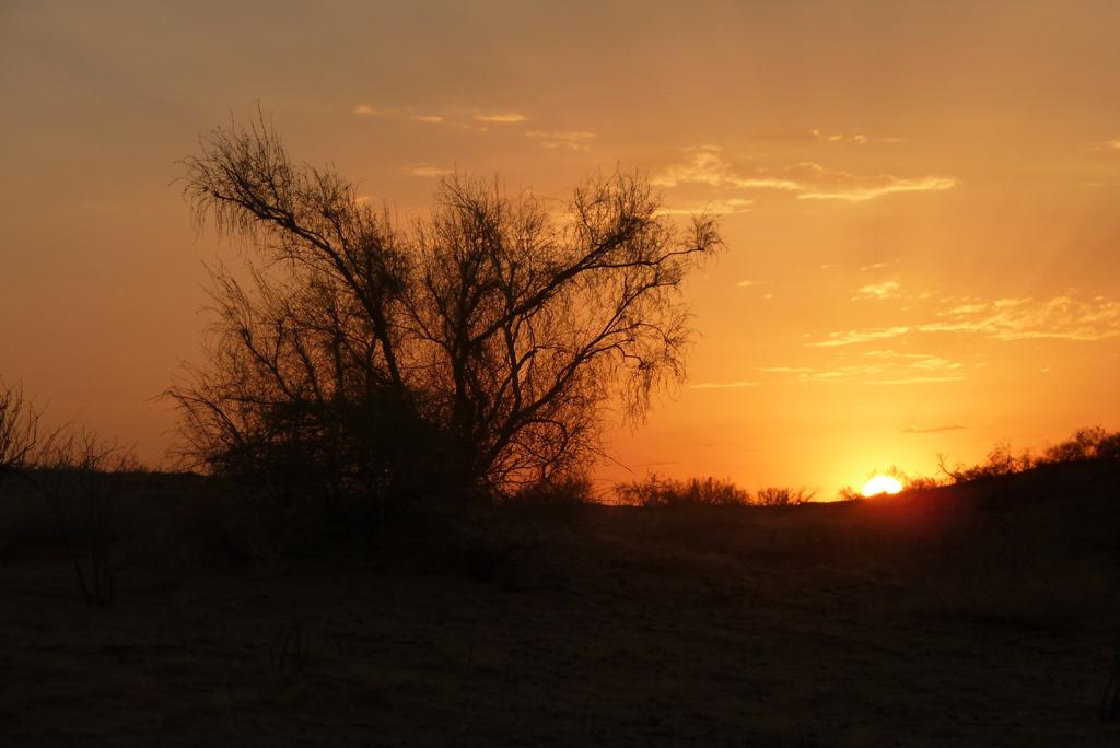 Sonnenuntergang Turkmenistan