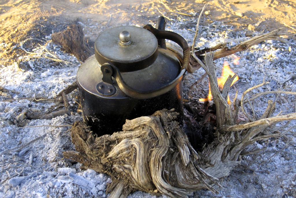 Wüstentour Kochstelle