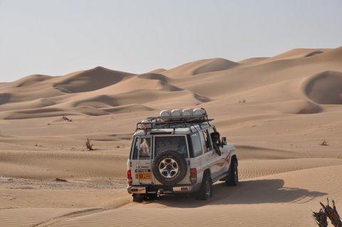 Geländewagen Oman
