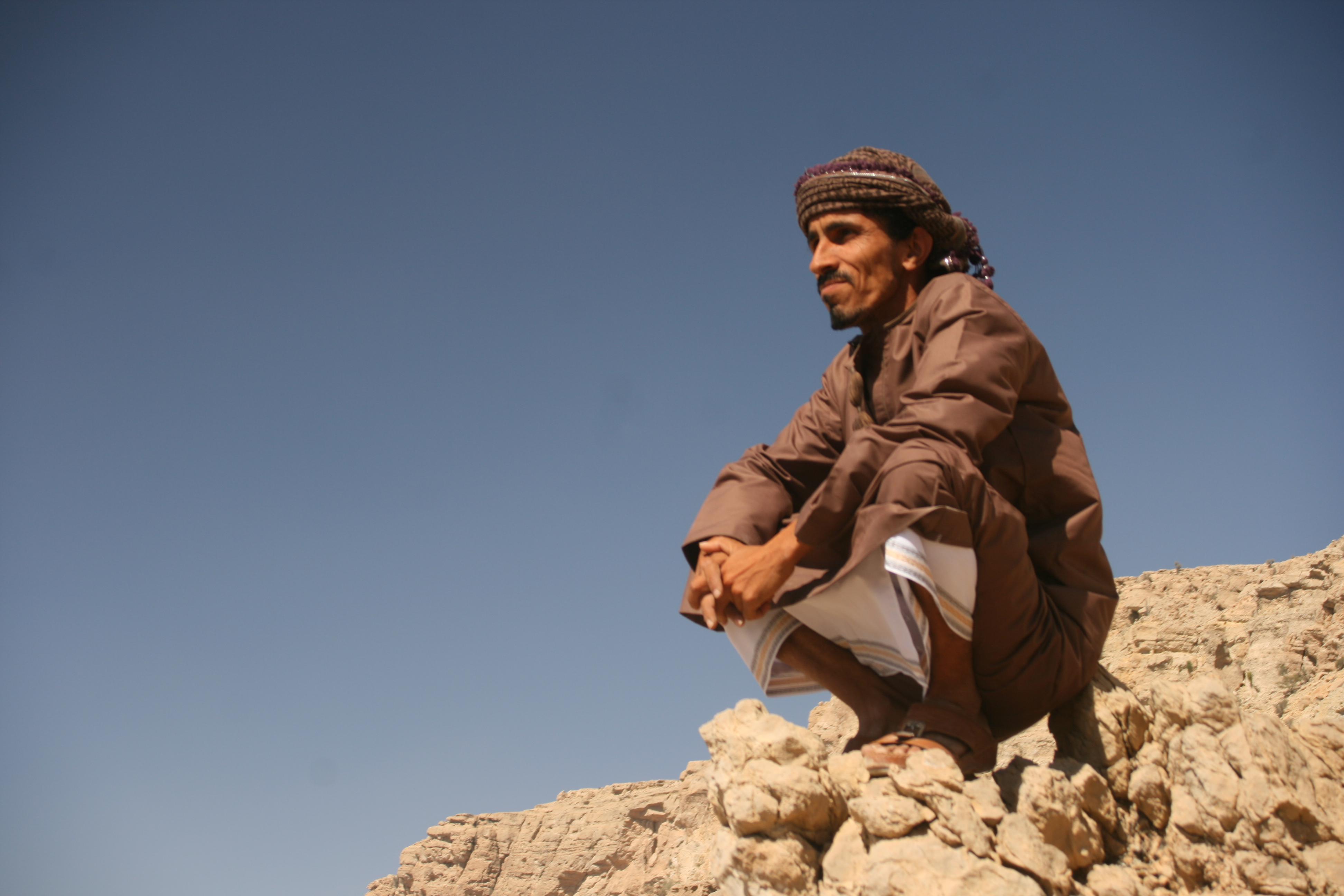 Unser Reiseleiter für Oman Reisen: Ibrahim al-Balushi