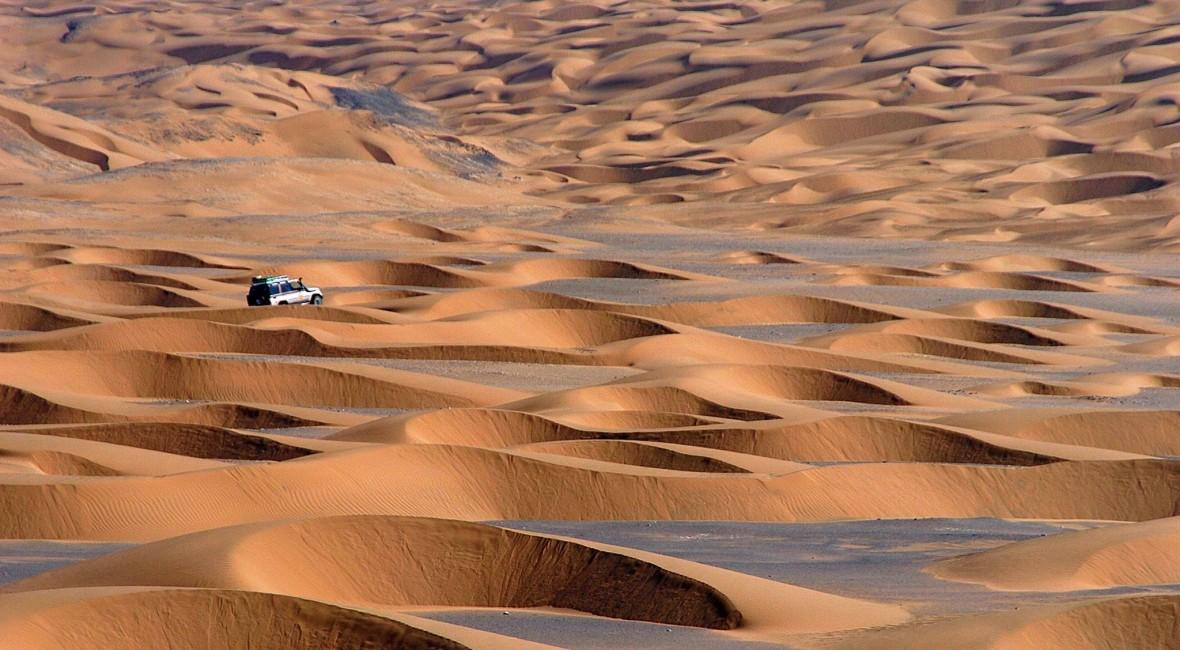 Expedition Iran Wüste Dasht-e Lut mit Geländewagen