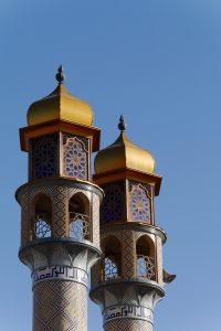 Iran: Minarette im Sheikh Safi Heiligtum