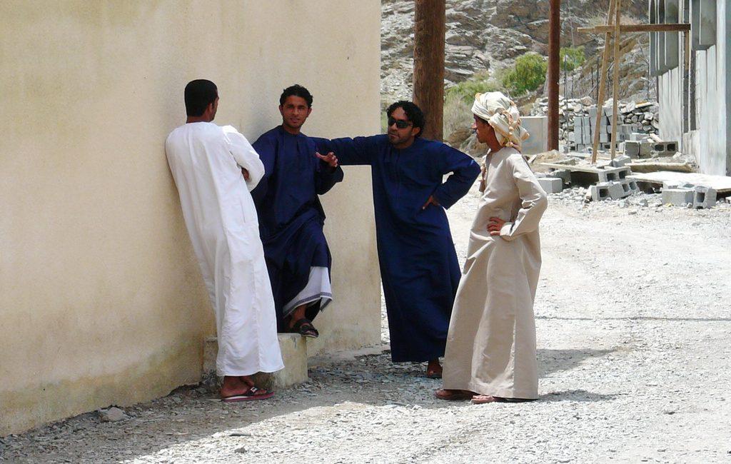 Oman: Guide Ibrahim im Gespräch
