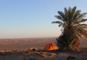 Iran: Zelt in der Dasht-e Lut