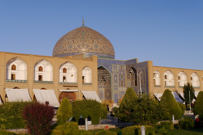 Die Sheikh Lotfollah Moschee in Isfahan im Iran