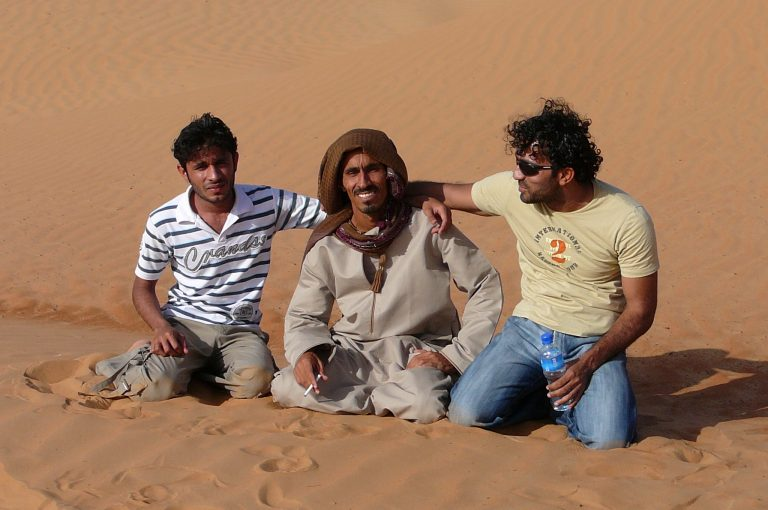 Oman: Unser Kooperationspartner und Reiseleiter Ibrahim al-Balushi in der Ramlat al Wahiba