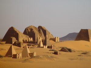 Sudan: die Nekropole von Meroe