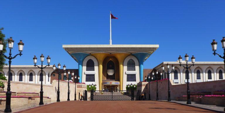 Oman: Palast des Sultans