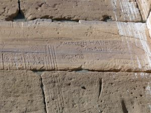 Sudan: Grafitti gab es auch damals