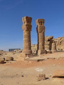 Sudan: Hathorsäulen