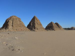 Sudan: Pyramiden von Nuri