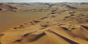 Oman: Die Wüste Rub al-Khali von oben