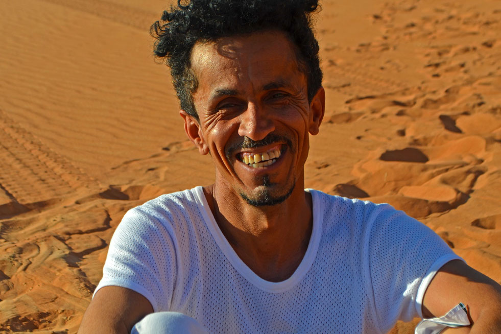 Oman Reiseleiter nomad Ibrahim al-Balushi
