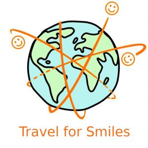 Das Logo des Vereins Travel for Smiles.