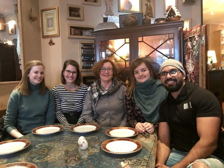 Im persischen Restaurant