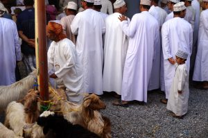 Traditionelle Kleidung in Oman