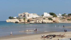 Der Strand von Qurum mitten in der Haupstadt Muscat