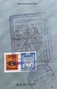 Jordanien Visum