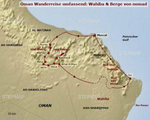 Oman Reisetyp Wandern
