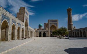 Die Handelsstadt Bukhara an der Seidenstraße