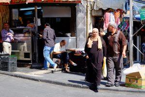 Straßenszene in Amman