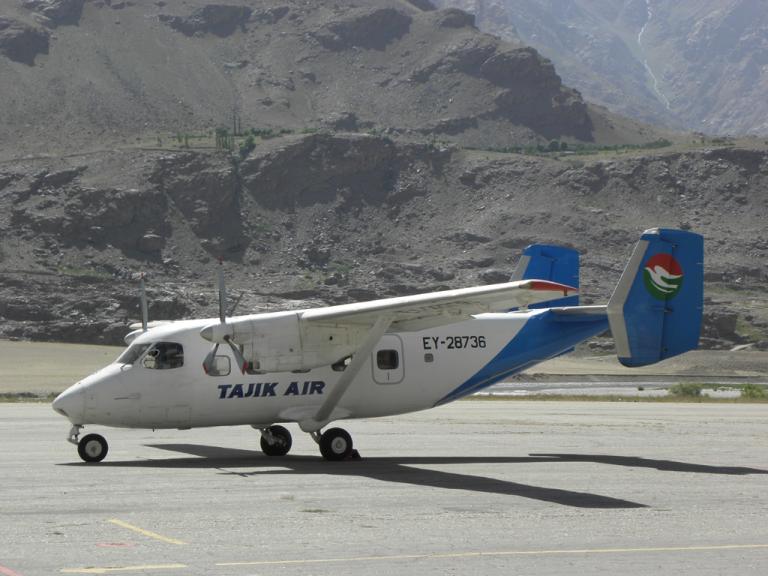 Flugzeug in Tadschikistan