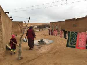 Wie bezahle ich in Turkmenistan: Dorf in Turkmenistan