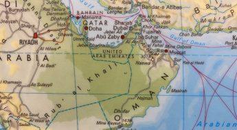 Wo liegt Oman: Landkarte Oman