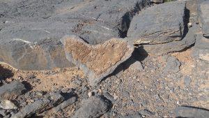 Gesteine des Jebel Shams